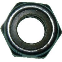 NYLON INSERT LOCK NUTS - METRIC ZINC